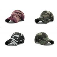 Quality Cool Custom Personalized Hats , Embroidery Camouflage Hip Hop Cap For Girls wholesale