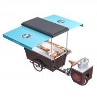China Vending Mobile Street Barbecue Tricycle Grill Food Cart on sale