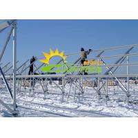 China Reliable Structure Ground Mounted Solar Pv Systems Mid Clamp Aluminum Rail on sale