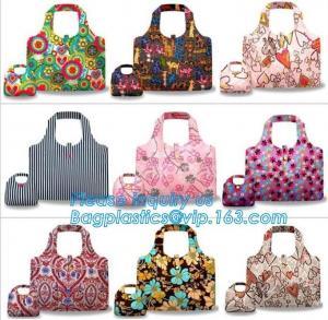 Quality Hot sale best quality custom reusable promotional folding foldable polyester shopping bag wholesale bagease bagplastics wholesale
