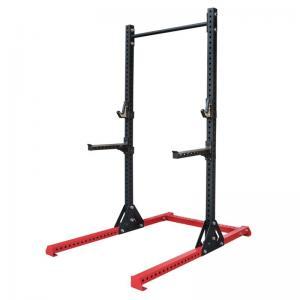 Quality Weightlifting 3.0mm Steel Tube Gym Adjustable Squat Rack wholesale