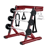 Quality Handle Rack Heavy Duty Gym Equipment Professional 64kg Machine Weight wholesale