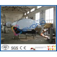 Quality SUS316L Horizontal Milk Transport Tank With Insulation Layer 1000L-8000L Capacity wholesale