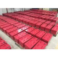 Quality Red M8 Front Terminal Battery For Digital Channel Station , 12v180ah Capacity wholesale