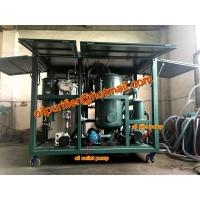 Quality Upward enclosed type vacuum transformer oil purifier machine,Insulation Oil Filtration Plant with double oil pumps wholesale