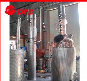 Quality 500L Semi-Automatic Copper Distillation Column , Vodka Distillation Kit wholesale