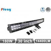 Quality Curved 180W Led Light Bar 30 Inch Cree Chip Dual Row Waterproof IP67 wholesale