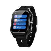 Quality Elderly People Android 4G SOS GPS simcard slot smart watch Anti lost fall down alert smart watch for elderly people wholesale