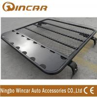 Cheap Universal Alininum 4x4 Car Roof Luggage Rack Adjustable Size Black Color for sale