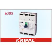 Buy cheap 630A 3 Pole Mccb Circuit Breaker Overload Short Circuit And Under Voltage from wholesalers