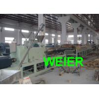 China Door Panel WPC Board Production Line / Machinery For Plastic And Wood Composite on sale