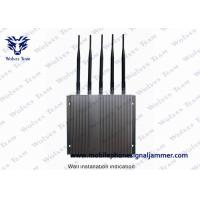Quality Remote Controlled Cell Phone GPS Jammer Stable Jamming Range Up To 40m wholesale