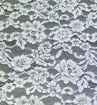 Quality Cotton Nylon Cord Lace Fabric floral flower pattern for garmen wholesale wholesale