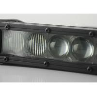 Quality Single Row 4D Offroad Light Bar , 5W CREE Chips 60 W Combo Beam Light Bar wholesale