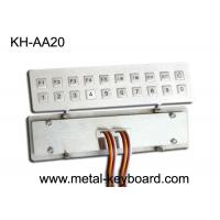 Quality IP65 Rated Waterproof Door Entry Keypad with 20 Mini Size Keys wholesale
