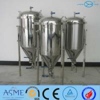 Cheap Beer Fermentation Tank With SS304 OR SS316 Has 200L To 5000L for sale