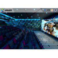 Quality New Trend Future 4D Movie Theater Equipment Seamless Compatibility With Hollywood Movies wholesale