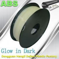 Quality Markerbot , RepRap Glow in The Dark 3d Printer Filament  , 3D Printing Filament ABS wholesale