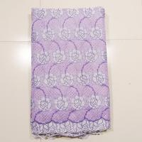 China Embroidered Organza Lace Fabric , Ladies Underwear on sale