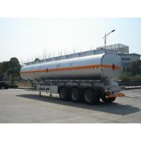 Quality 46000L Aluminum Alloy Oil Tank Semi Trailer wholesale