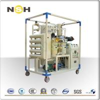 China High Voltage Electric Transformer Oil Purifier Machine Horizontal Online Work on sale