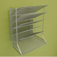 Cheap Office Mesh Magazine Display Racks Desk Organizer With 6 Tray for sale