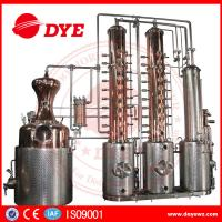 Quality 250gal customized Copper Alcohol Distiller Distillation Equipment for vodka gin used wholesale