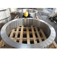 Quality DIN 34CrNiMo6 Hot Rolled  Forged Steel Rings Hardness 30HRC - 40HRC Customized , Round Steel Blanks wholesale