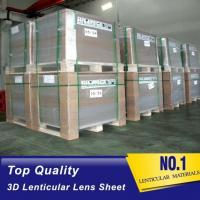 Quality Chinese OK3D Widely-used Plastic PS/PET Material 75/100/161 Lpi 3D Film Lenticular Lens Sheet wholesale