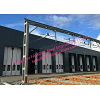 Quality Multi Leaf Sliding Folding Depot Doors Commercial Folding Doors With Drive Systems Design wholesale