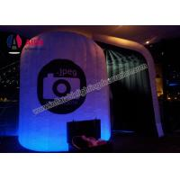 Cheap Camera Machine Inflatable Photo Booth PVC Inflatable Party Decorations for sale