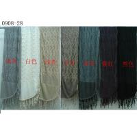 Quality Wool Scarf with Lace Trim (0908-04) wholesale