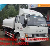 China Hot sale JAC 5,000L water tank truck with cheapest price, high quality and competitive price JAC euro4 water truck on sale