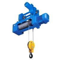 Quality Standard Headroom Trolley Wire Rope Hoist , Mining 3P 380V wholesale