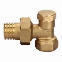 Quality Radiator Valve, Nickel-plated, with Forged Brass Body anfd Fittings (Costumized) wholesale