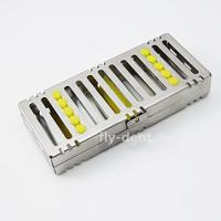 China Dental Sterilization Cassette Rack Tray for 5 Dental Surgical Instruments on sale