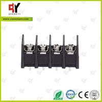 Quality 300V / 30A 9.5mm  Connector Terminal Block PA66 UL94V-0 Material wholesale