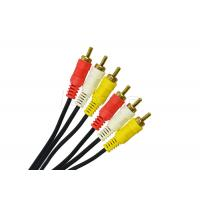 Quality Round Special Cables RCA Video Cable 2 RCA 3 RCA Cable 2R / 3R For CCTV Cameras wholesale