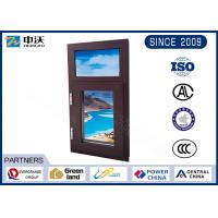 Quality Aluminum Alloy Fire Resistant Windows With Manual Switch High Strength wholesale