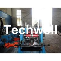 Quality C Section Channel Roll Forming Machine with Gearbox Drive for Making Steel C Purlin wholesale