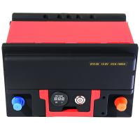Quality Lightweight Powerful Lifepo4 Car Battery 1500A 12.8V With BMS Quick Charge wholesale