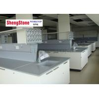 Quality Professional Chemistry Lab Countertops / BenchTop With Epoxy Resin Material wholesale