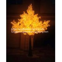 China led artificial trees-Led Ginkgo Tree Light on sale