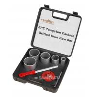 Quality 1-1/4 In. - 3-1/4 In. Carbide Grit Hole Saw Assorted Set 8 Pc wholesale