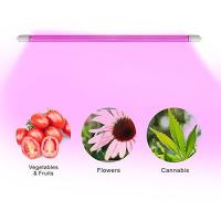 Quality 4 Feet IP65 LED Tube Grow Lights Aluminu PC With Water Joint , 120° Angle wholesale