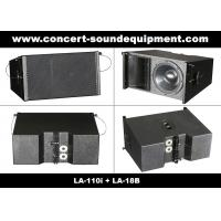 """Cheap Line Array Sound System , 2x1""""+10"""" 400W  Line Array Speaker For Living Event , DJ And Party for sale"""