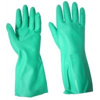 Quality Best Sell custom OEM working gloves green nitrile Glove of size S, M, L, XL of China supplier. Same quliaty as Ansell 's wholesale