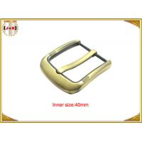 Quality Fashion Gold Pin Style Metal Belt Buckle Environmental Electroplate wholesale