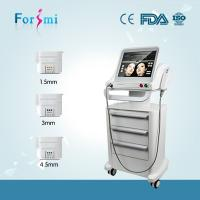 China 2016 best non invasive&non surgical hifu anti-wrinkle face lift skin tightening machine on sale