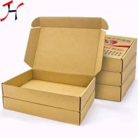 Cheap Recyclable Material Kraft Mailer Boxes , Logo Printed Corrugated Box for sale